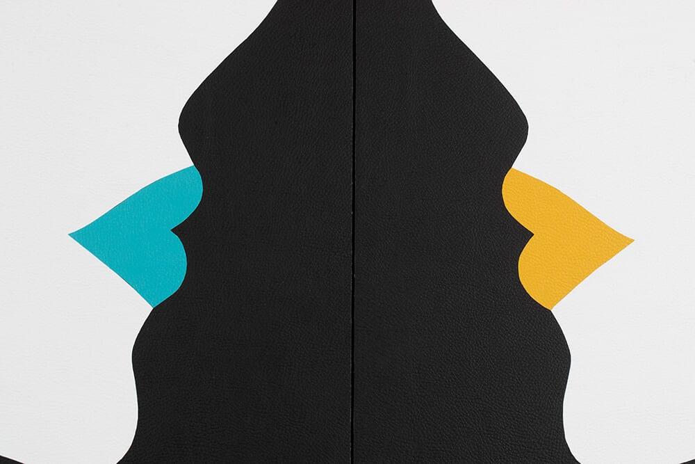 Robert Magnin Créations Miroir Jaune Turquoise 3