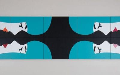 Miroir 1 (Turquoise)