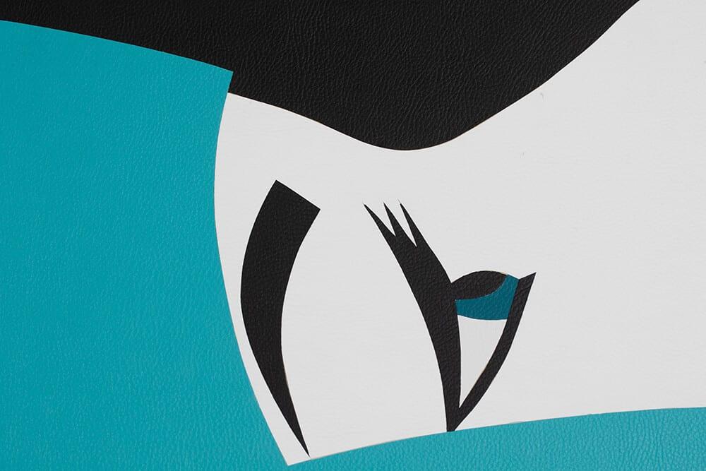 Robert Magnin Créations Miroir Turquoise 10 modules 3